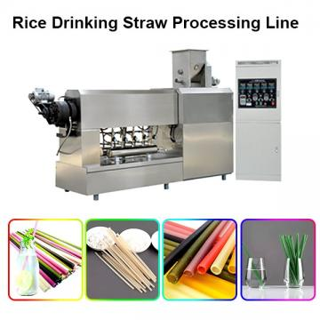 Automatic plastic drinking straw extruder / making machines supplied by KUNCHI