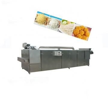 Full automatic different output panko bread crumb processing making machine