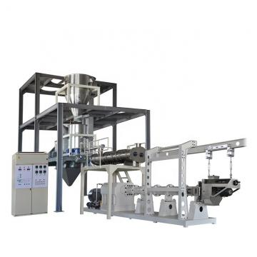 Different shape dry fish food processing line pet food extruder