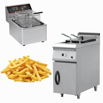 Double tank commercial chicken electric deep fryer