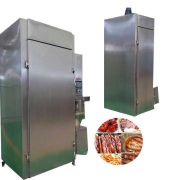 Halal Commercial Smoke Champer Meat Fish Chicken Smoking Sausage Smokehouse Machine