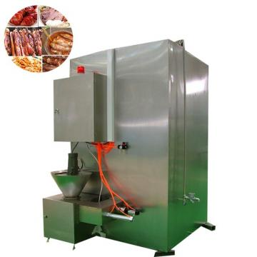 500kg/H Capacity Hot Meat Sausage Fish Smoking Equipment