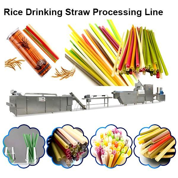 Speed adjustable paper straw making machine/automatic biodegradable drinking straw making machine/ bend drink straw maker #1 image