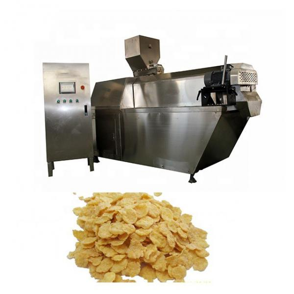 Automatic Stainless Corn Puff Snacks Maize Flakes Breakfast Cereals Cornflakes Cheese Ball Curls Kurkure Cheetos Making Machine #1 image