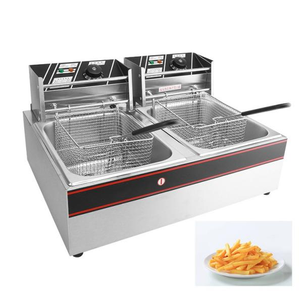 Digital Contral Auto Lift-Up Electrical Industrial Gas Fryer #1 image