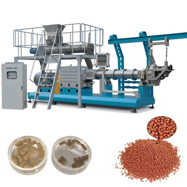High capacity automatic floating fish feed making machine extruder production line #1 image
