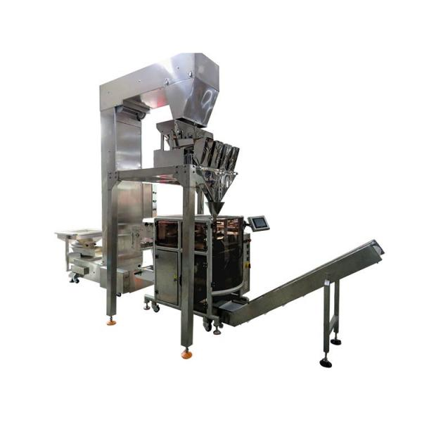 Automatic roasted peanut rice wheat cereal corn puff weight packaging machine #1 image