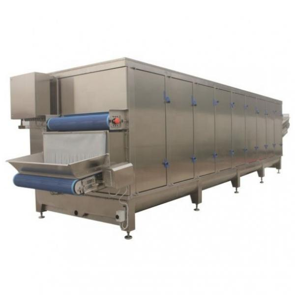 7m length Multifunction Infrared ray Hot air conveyor Drying Tunnel with preheating zone and cooling zone #1 image