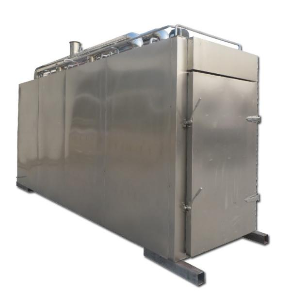 High Efficient Commercial Meat Sausage Smokehouse Fish Smoking Machine #1 image
